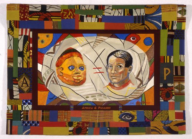 , 'Africa & Picasso,' 2000, Galerie Anne de Villepoix
