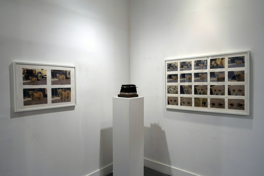 "Jennifer Murray, ""Grid""; Andrea DeFelice, ""Blocks (Life Without Desire)""; Murray, ""CONTROL ROOM (All Eyes On Us)"""