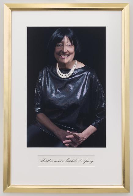 , 'Martha meets Michelle halfway,' 2014, P.P.O.W
