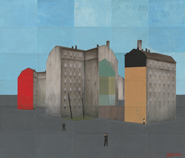 , 'La Casa Rossa,' 2019, Galerie XII