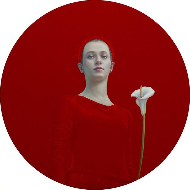 , 'Chica con flor,' 2016, Lucia Mendoza