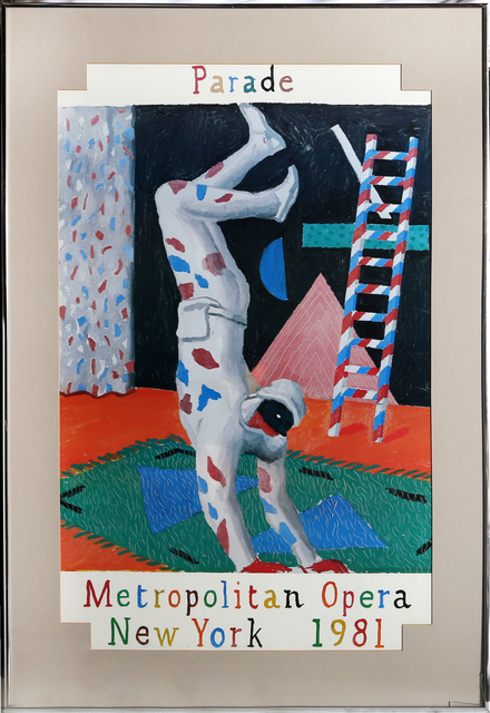 David Hockney, 'Parade, Metropolitan Opera', 1981, RoGallery