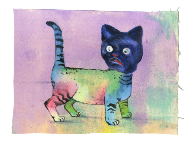 , 'Rainbow Cat,' 2014, Gaa Gallery