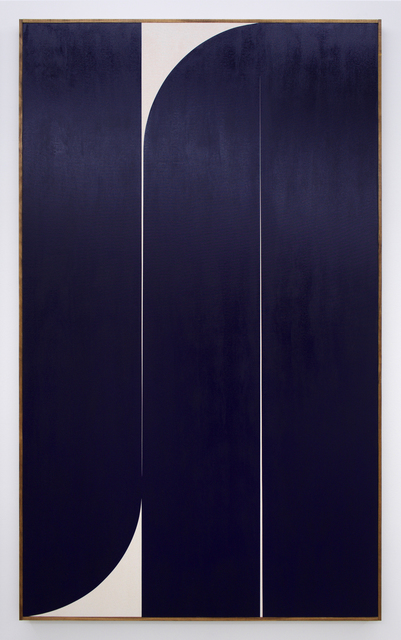 , 'Untitled (blue 3),' 2019, Romer Young Gallery