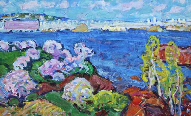 , 'Summer Day,' 1973, Paul Scott Gallery & galleryrussia.com