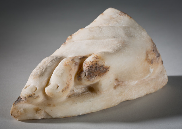 , 'Fragment of Foot,' Hellenistic period-4th century B.C.E., Davis Museum