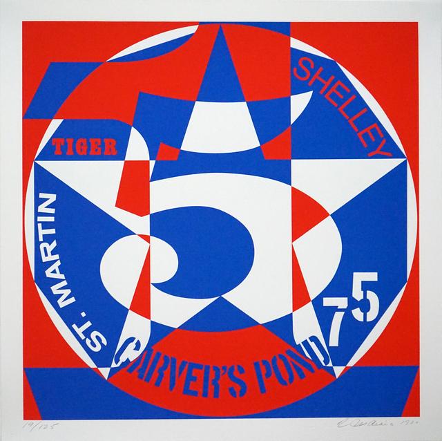 , 'DECADE: Vinalhaven Suite Autoportrait #5: CARVER'S POND,' 1980, Pascal Fine Art