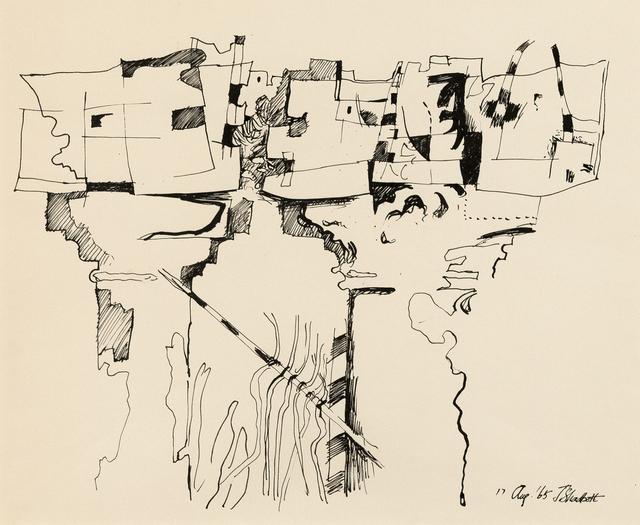 , 'Column Study,' 1967, Caviar20