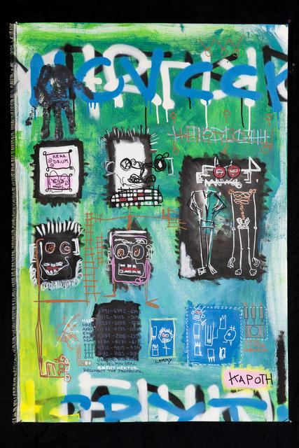 , 'Hector and Maverick,' 2015, Galleri Duerr