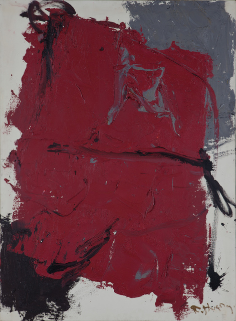 , 'Red No.3 (left),' 1991, 10 Chancery Lane Gallery
