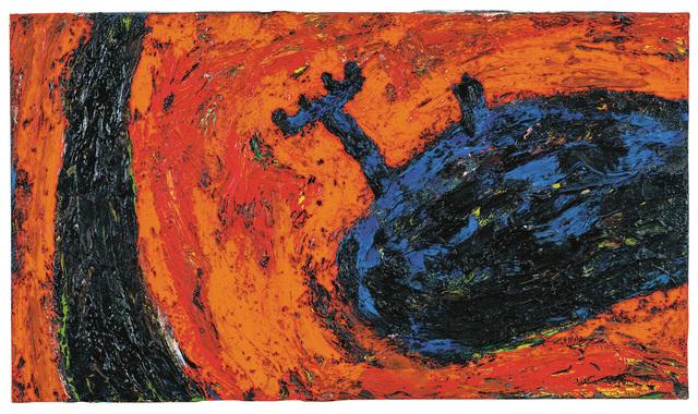 """, '""""Kleine Welt am Weg"""",' 1986, Galerie Bei Der Albertina Zetter"""