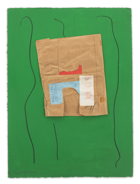 Robert Motherwell, 'Bowes & Bowes with Green', ca. 1968/ca. 1973, Miles McEnery Gallery