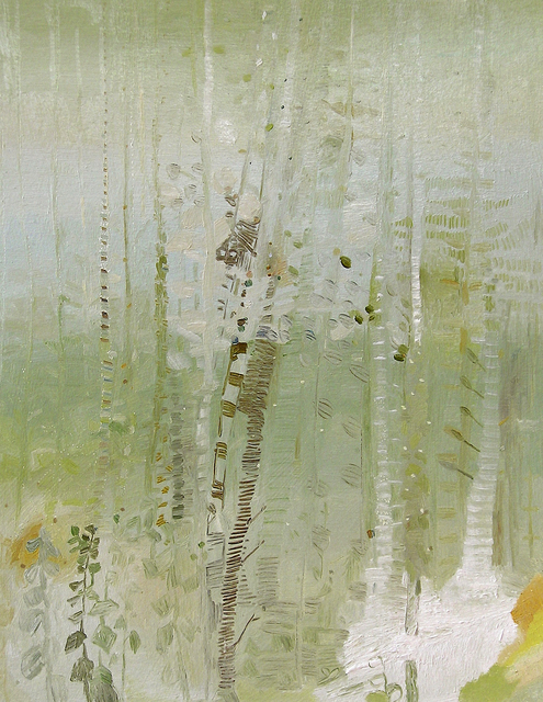 , 'Warm Birch Rain,' 2009, Kathryn Markel Fine Arts