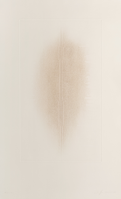 , 'THE EQUAL AND INALIENABLE RIGHTS OF ALL,' 2017, Long-Sharp Gallery