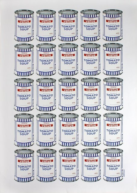 Banksy, 'Soup Cans', 2006, End to End Gallery