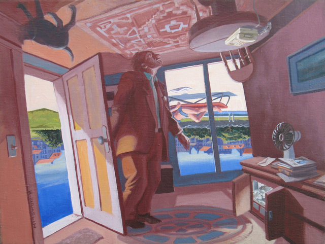 Robert Birmelin, 'Lolita or Humbert's Desire, The Doors series (Reversible)', 2002, Painting, Acrylic on canvas, Stanek Gallery