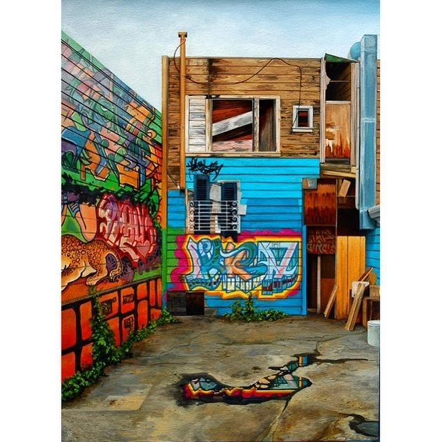 Jessica Hess, 'Mission Alley', 2015-2017, Bernay Fine Art