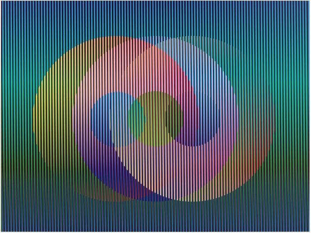 , 'Color Aditivo Panam Círculos 1,' 2010, Marion Gallery