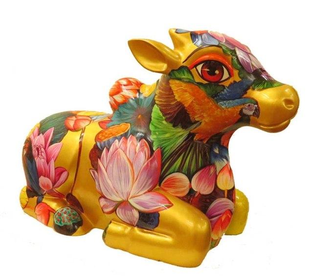Sachindra Nath Jha, 'Nandi (Lotus)', 2015, Arushi Arts