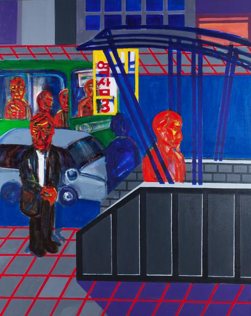 , 'Yeoksam Station 3,' 2015, Mizuma, Kips & Wada Art