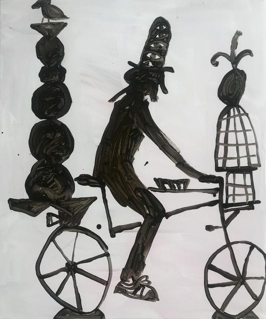Mie Olise Kjærgaard, 'Biking with a Free Bird', 2019, Hans Alf Gallery