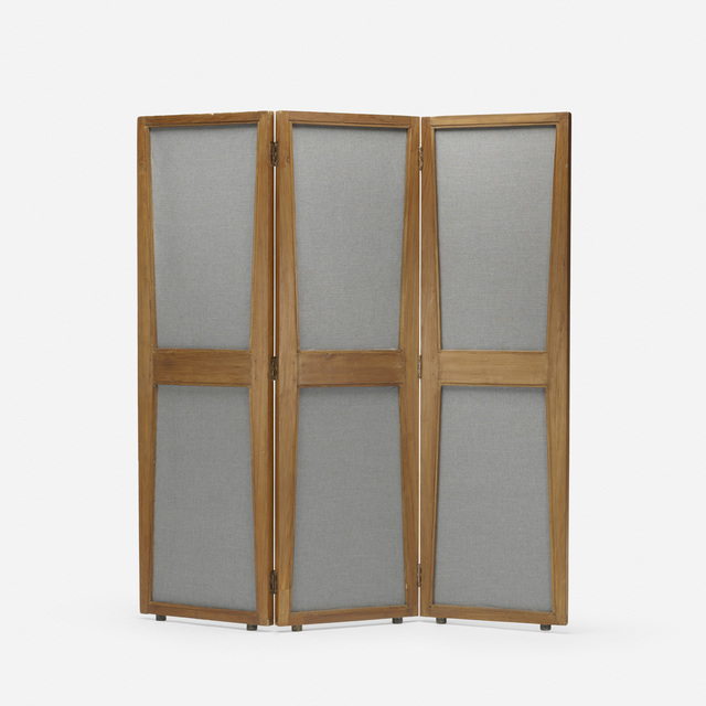 Pierre Jeanneret, 'Folding Screen from the Administrative Buildings, Chandigarh', c. 1957, Wright