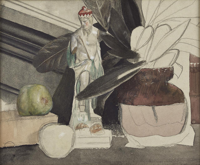 , 'Figure with Apple and Vase,' ca. 1935, The Scottish Gallery