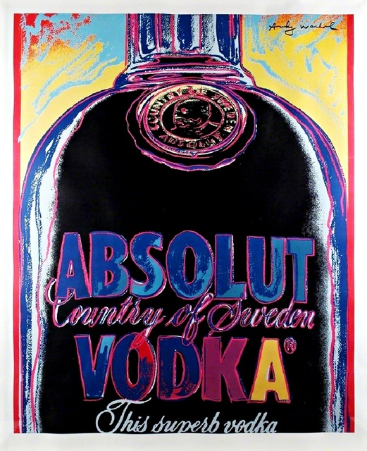 Andy Warhol, 'ABSOLUT (Limited Edition of 50)', 1985, Alpha 137 Gallery