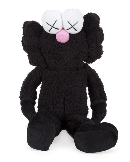 KAWS, 'BFF Plush Doll (Black)', 2016, Lougher Contemporary