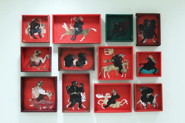 Ramazan Can, 'Shamans' Animals of Power - Şamanların Erk Hayvanları', 2014, Anna Laudel