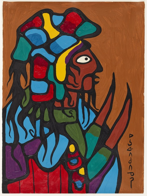 , 'Ancestral Warrior,' 1972, Art Gallery of Ontario (AGO)