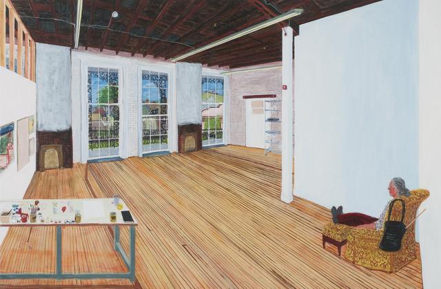 , 'Rampart St. Studio NO,' 2013, Tibor de Nagy