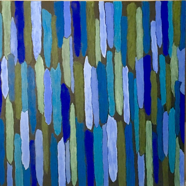 , 'HRGF 2, (Blue and Green),' 2017, InLiquid