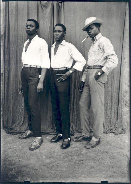 , 'Sans titre (Trois hommes habillés à la dernière mode),' 1952, galerie du jour agnès b.