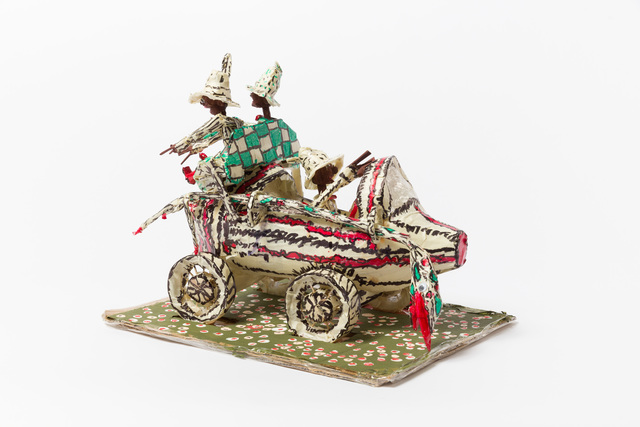 , 'Untitled (WH265 three figures in vehicle checkered rumble seat),' , The Good Luck Gallery
