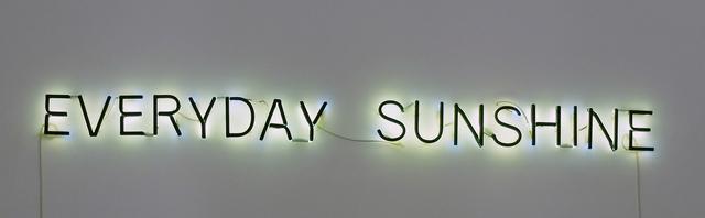 Alicia Framis, 'Everyday sunshine ', Galeria Horrach Moya