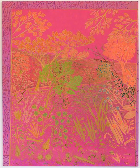 , 'chorus runs riot,' 2014, Almine Rech