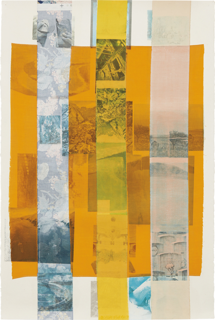Robert Rauschenberg, 'Prime-Run (Slide)', 1979, Drawing, Collage or other Work on Paper, Solvent transfer on fabric collage on paper, Phillips