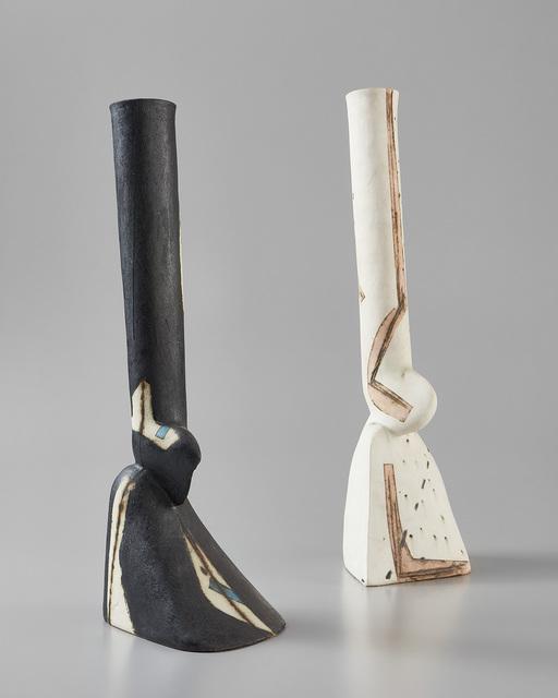 "Gordon Baldwin, 'Two ""Perched"" vessels', 1985, Phillips"