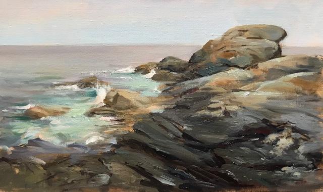 , 'Pemaquid Point,' 2018, The Galleries at Salmagundi