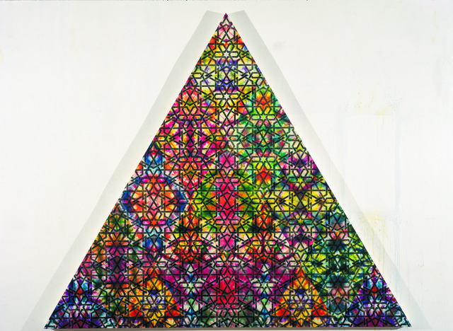 , 'Damascene Triangle III,' 2008, Leila Heller Gallery