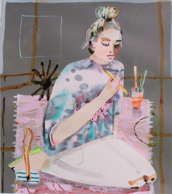 , 'Maggie Working,' 2018, Gaa Gallery