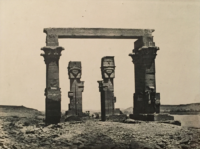 , 'Nubie Temple de Kardassy,' Neg. date: 1851c. / Print date: 1851 c., Alan Klotz Gallery