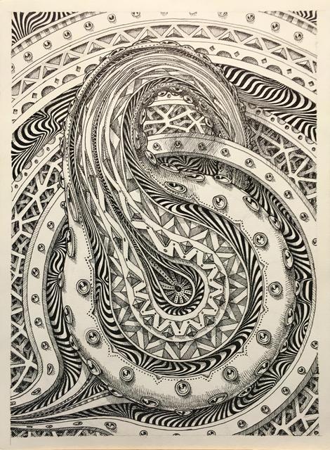 , 'Mandala Study,' 2018, Mirus Gallery