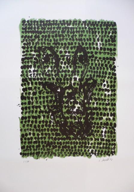 Georg Baselitz, 'Grünes Tuch (Green Cloth)', 1990, Aurifer AG