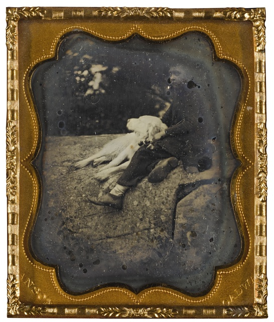 Rufus Anson, 'A Young Boy with His Dog, New York', 1850s, Sotheby's