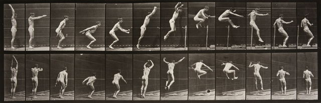 , 'Animal Locomotion: Plate 161 (Man Leaping),' 1887, Huxley-Parlour