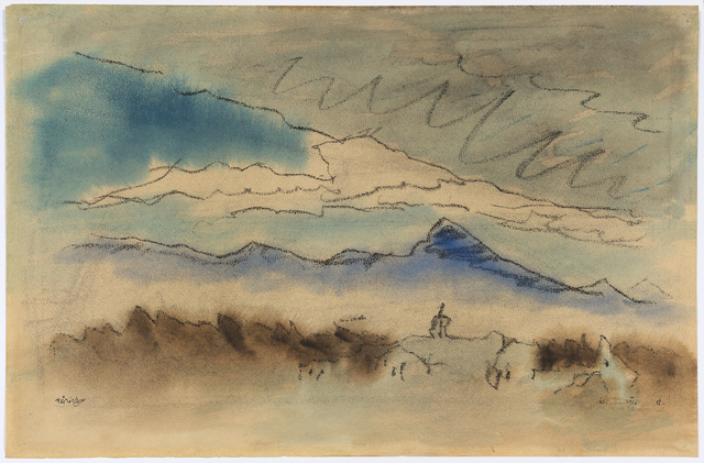 , 'Landscape Near Lincoln, Massachusetts,' 1951, Debra Force Fine Art