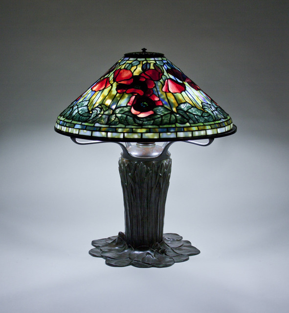 Tiffany Studios, 'Poppy Table Lamp,' ca. 1906, Lillian Nassau LLC