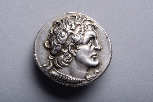 , 'Silver Tetradrachm with the Portrait of Ptolemy I,' ca. 180 BCE, ArtAncient